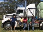 Wyong RC and local trainers deliver hay to needy farmers 1