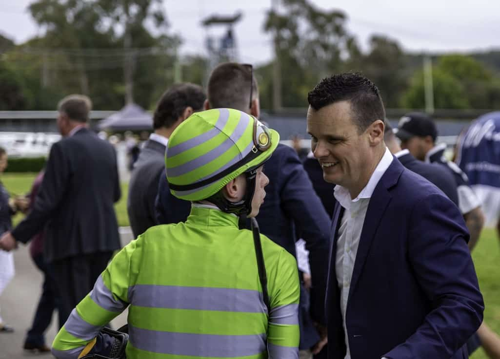Joe Pride - a big fan of Wyong - Central Coast Men Of Football Raceday Preview 1