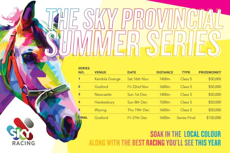 SKY PROVINCIAL SUMMER SERIES KICKS OFF THIS NOVEMBER 1