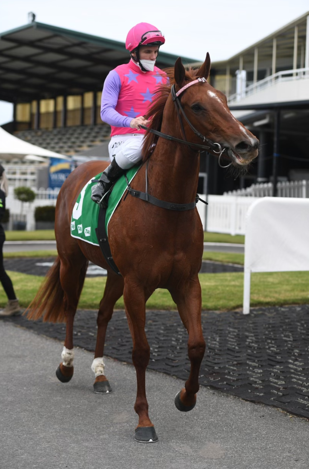 WAUGH'S FILLY PRETTY TO WATCH 4