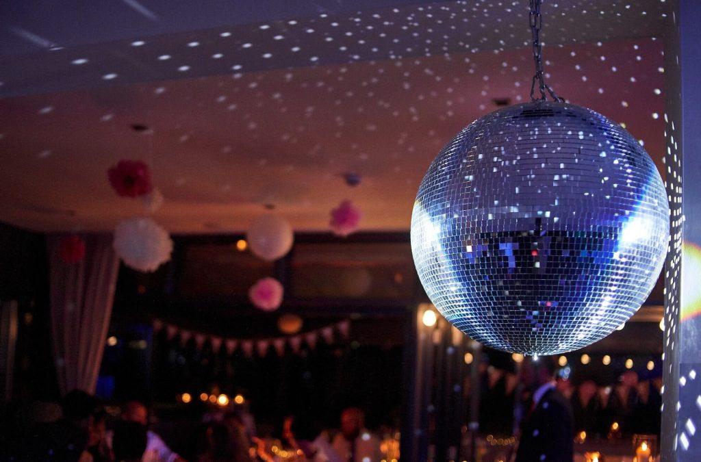 school formal disco ball